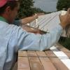 Montaż szalunków wienców z konstrukcją stropową